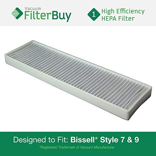 3 Filter Upper Tank /& Pre-Motor Filter for Bissell 6591 22C1 35762 w//Micro Kit