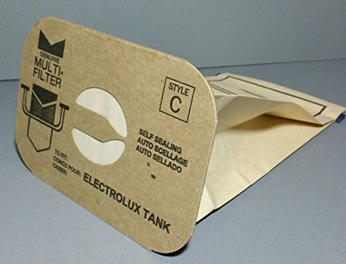 24 aerus electrolux canister style c vacuum cleaner bags made in usa - Electrolux Canister Vacuum