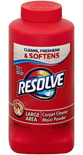 Resolve Carpet Cleaner Powder 18 Oz Bottle For Dirt