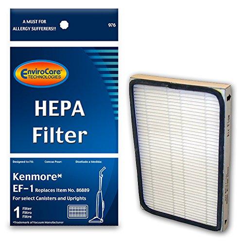 Kenmore Type O Hepa Vacuum Bags For Upright Vacuums 6 Pk