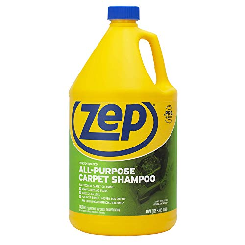 Zep All Purpose Carpet Shampoo Concentrate 128 Ounce